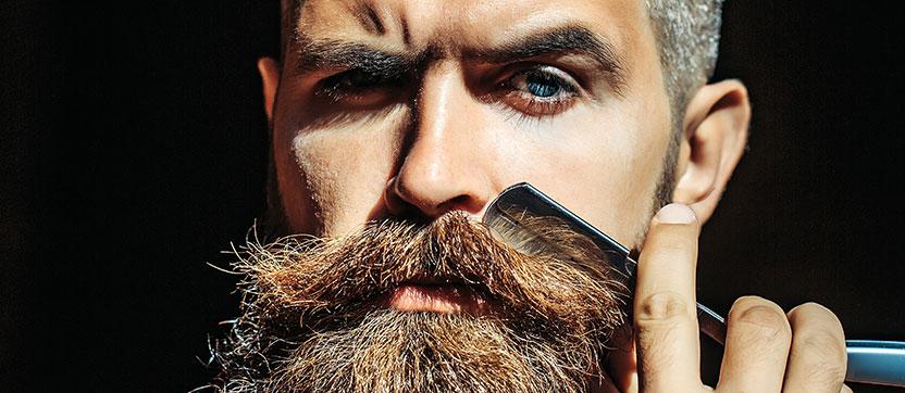 Olika sorters skägg